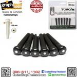 หมุดกีต้าร์โปร่ง Graph Tech TUSQ Traditional Style Black PP-2122-00