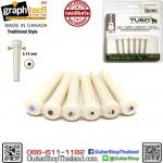 หมุดกีต้าร์โปร่ง Graph Tech TUSQ Bridge Pins White PP-1182-00