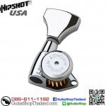 ลูกบิดล็อคสาย Hipshot® 6Inline Grip-Lock™ Chrome