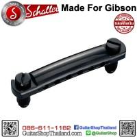 หย่อง Schaller Stop Bar Tail Piece Black