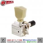 ลูกบิดล็อคสาย Schaller® Keystone Lock 3L+3R Nickel