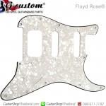 ปิ๊กการ์ด FloydRose®HSS 11Hole 3Ply White Pearl