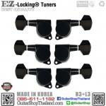 ลูกบิดล็อคสาย EZ-LOK® JN-07SP-R3+L3 Black Set