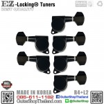 ลูกบิดล็อคสาย EZ-LOK® JN-07SP-R4+L2 Black Set